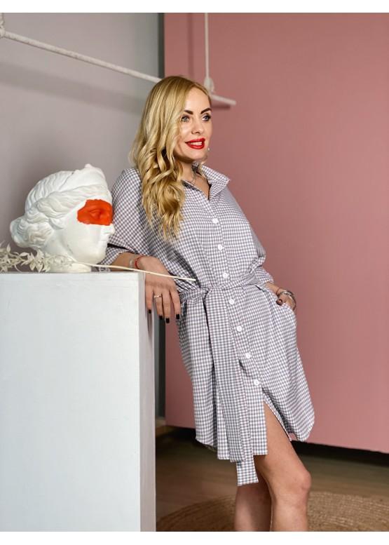 Платье-рубашка 161-100